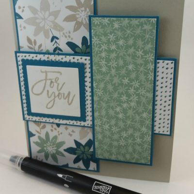 Layer Patterned Paper Card