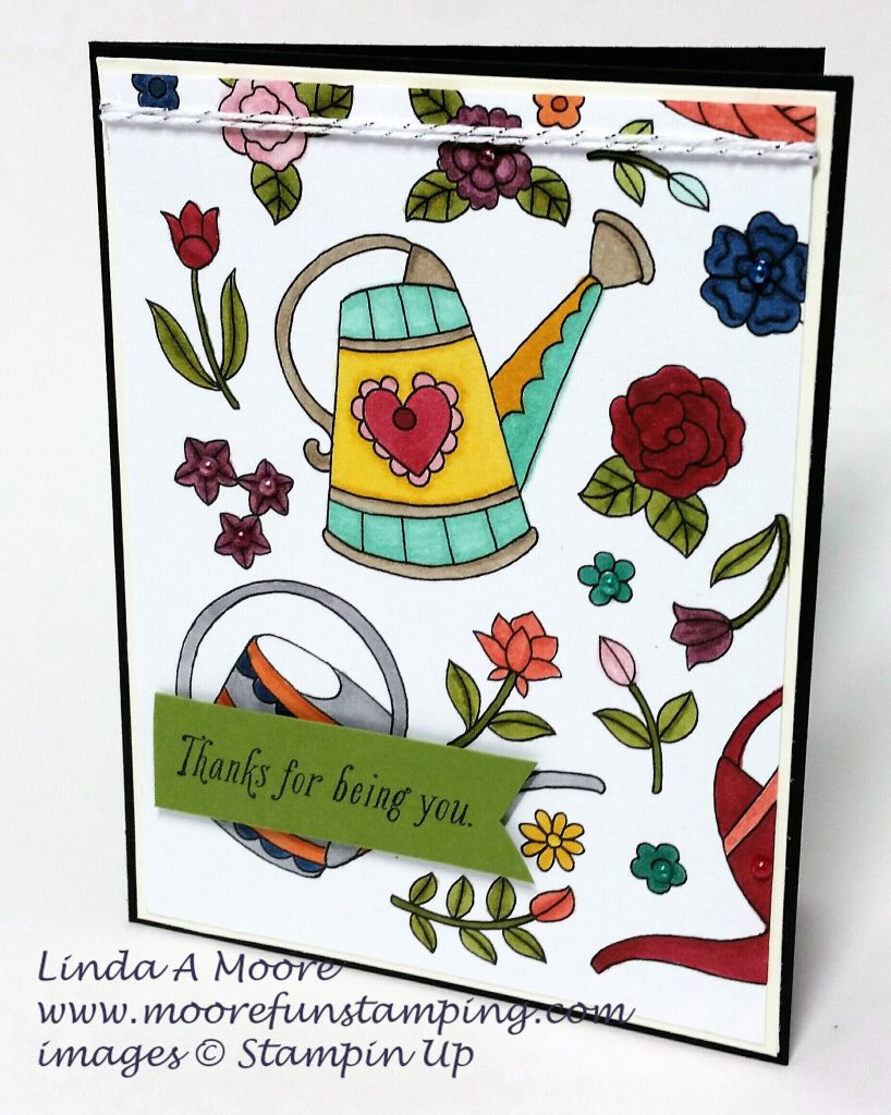 Stampin BLends Just add color