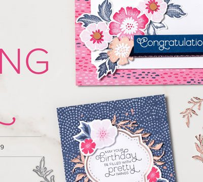 Stampin Up – Everything is Rosy Product Medley
