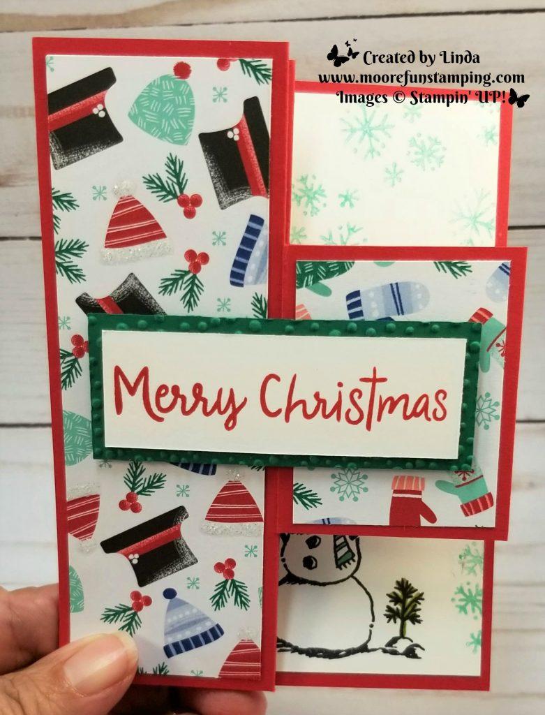 Tri -Shutter Fold Card