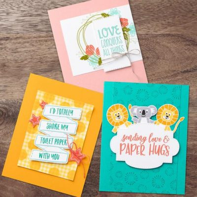 Stampin' Up! Making A Difference:  COVID-19 Product Giveback