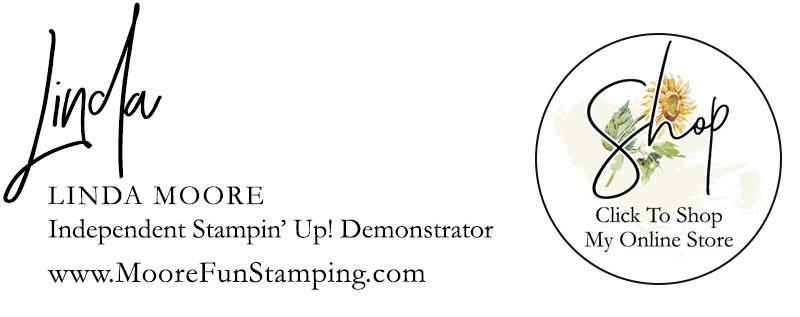 Linda Moore, Stampin' Up! Demonstrator Signature