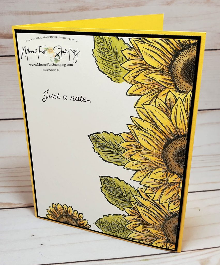 Celebrate Sunflowers - left side