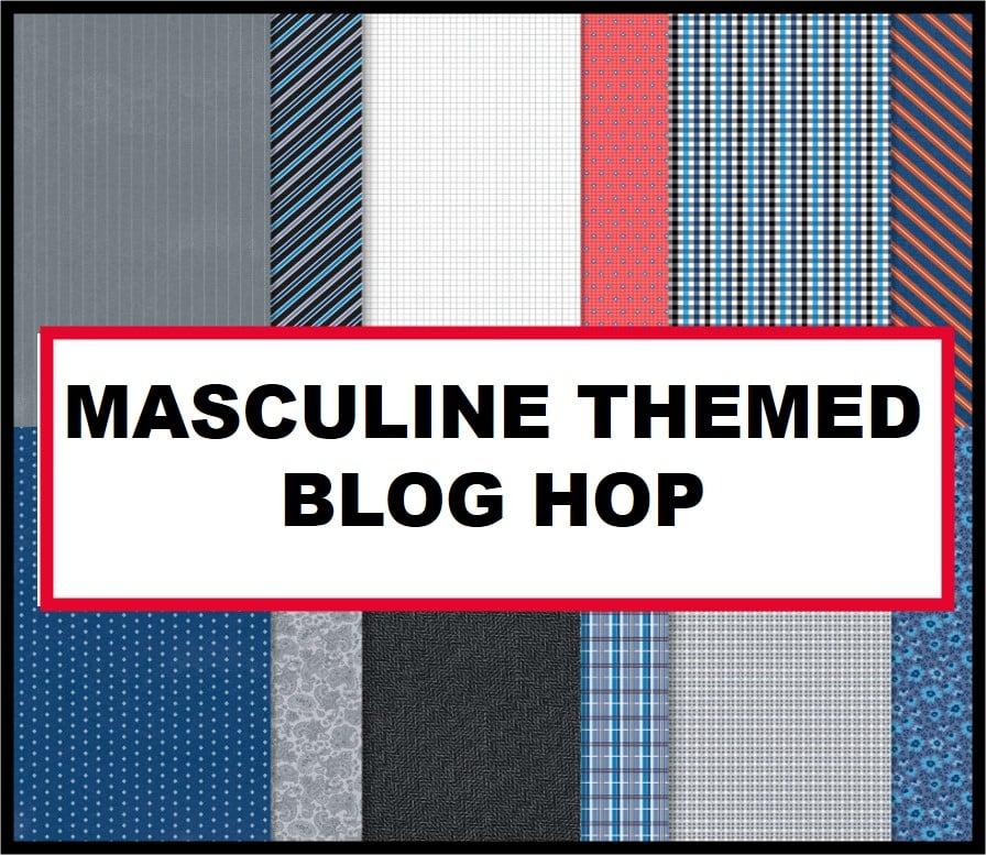 masculine themed blog hop