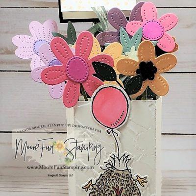 In Bloom Vase Card – New at SU May Blog Hop