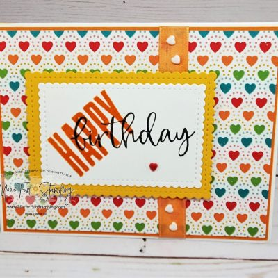 Card Sketch Challenge – Stamping with Friends blog hop