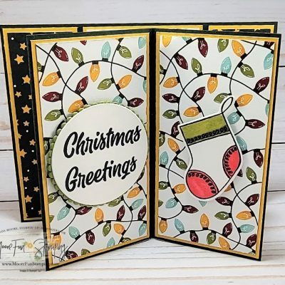 Suspended Book Fold Card – Sweet Stockings