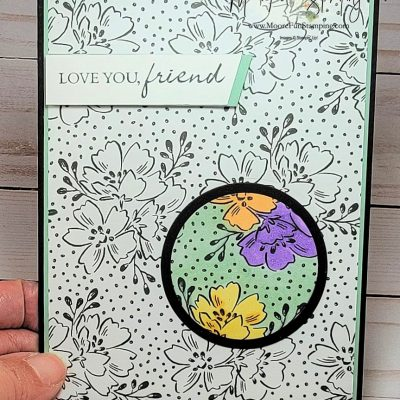 Spotlight Technique – Stamping with Friends Blog Hop